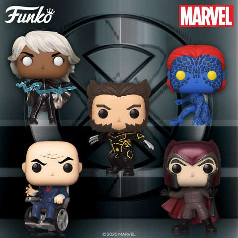 Pop! Marvel: Xmen 20th Anniversary (Set of 11)