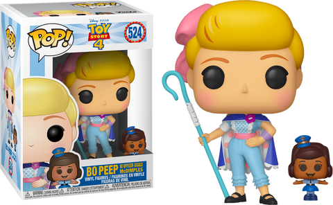 Pop! Toy Story 4: Bo Peep w/ Officer Giggle Mcdimples