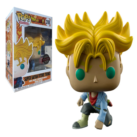 Pop Animation: Dragon Ball Super SS Future Trunks IE