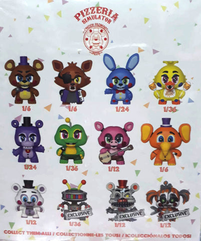 Mystery Mini:FNAF 6-Pizza Sim-12pc PDQ (GS)
