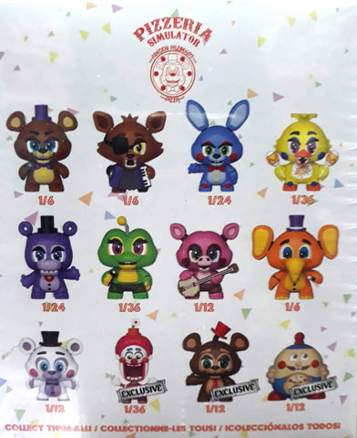 Mystery Mini:FNAF 6-Pizza Sim-12pc PDQ (TGT)