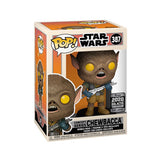 Funko Pop! Star Wars Celebration 2020 Shared Exclusive - Concept Series Chewbacca