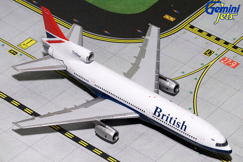 GJ400 BRITISH AIRWAYS L-1011-1 (NEGUS LIVERY) G-BBAG