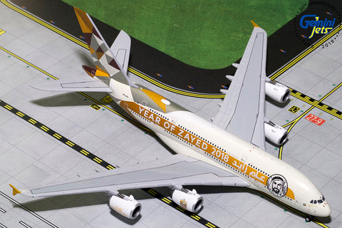 "Etihad A380-800 ""Year of Zayed 2018"" A6-APH"