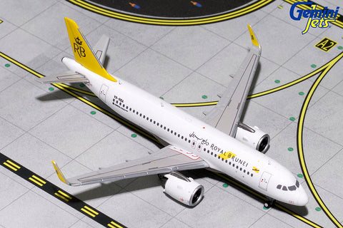 GJ400 ROYAL BRUNEI A320 NEO V8-RBA