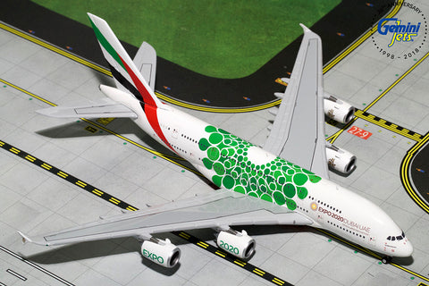 Emirates A380-800 Expo 2020 Green Livery