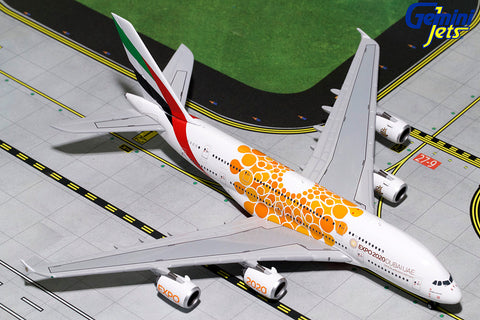 GJ400 EMIRATES A380-800 (ORANGE EXPO LOGO) A6-EOU