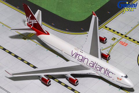 GJ400 VIRGIN ATLANTIC B747-400 G-VBIG