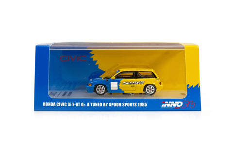 Inno64 Honda Civic SI E-AT GR.A Tuned By Spoon Sports 1985- LIMITED EDITION