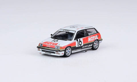 Honda Civic Si E-AT Gr.A #16 Mugen Motul JTC 1987