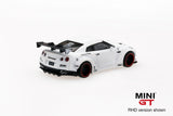 1/64 LB WORKS Nissan GT-R R35  Type 1, Rear Wing Ver 1  Matte White  (LHD)