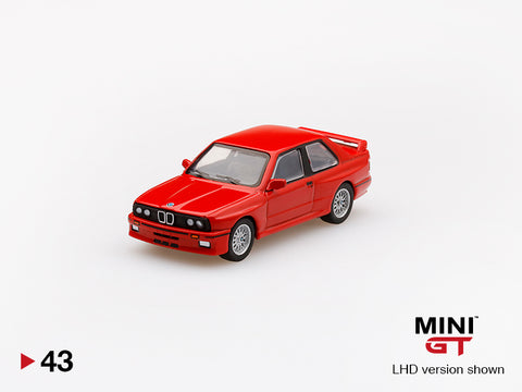 1/64 BMW M3 (E30)  Henna Red LHD