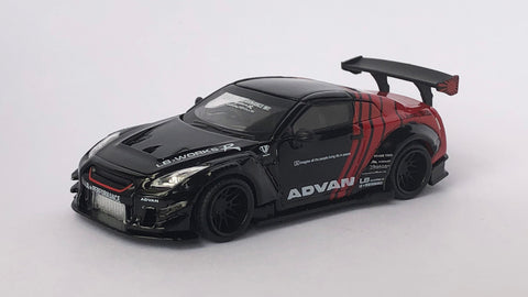 LB★WORKS Nissan GT-R R35 Type 2, Rear Wing ver.3 ADVAN Japan Exclusive (RHD)