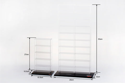 Acrylic Display Case  Large (20 cars) 29 x 12 x 53 CM