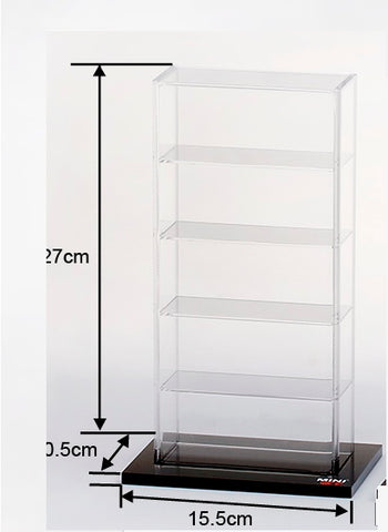 Acrylic Display Case  Small (5 cars) 15.5 x 10.5 x 27 CM