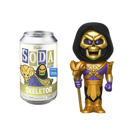 Funko Pop! Wondercon 2020 Funko Shared Exclusive: VINYL SODA: MOTU- Skeletor