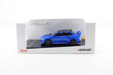 1/64 Hobby64 Mitsubishi Lancer Evolution X Final Edition Octane Blue