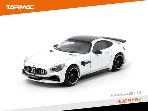 1/64 Mercedes AMG GTR - Designo Diamond white