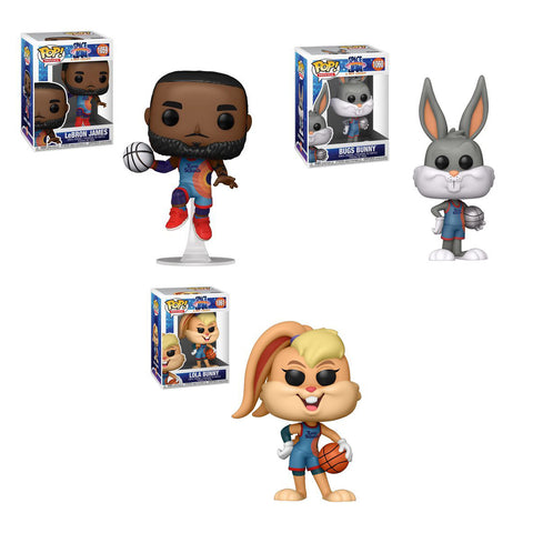 Funko Pop! Movies - Space Jam: A New Legacy (Set of 3)