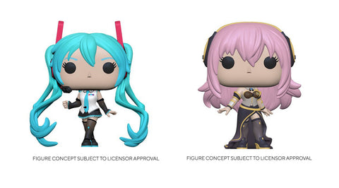 Funko Pop! Animation: Vocaloid Set of 2