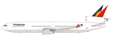 1/200 Philippine Airlines McDonell Douglas MD-11 Reg: N275WA with stand