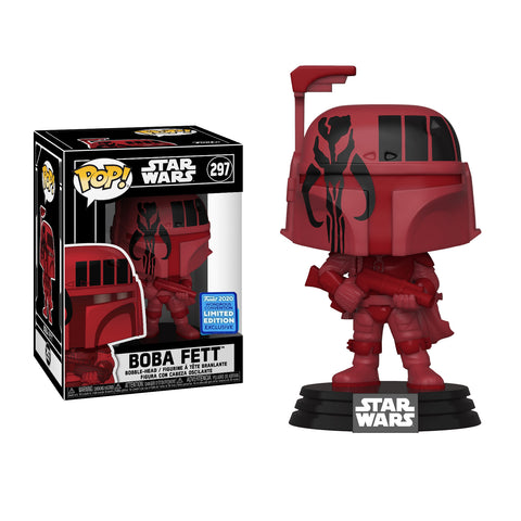 Funko Pop! Movies: Wondercon 2020 Funko Shared Exclusive:  Star Wars: Boba Fett with Pop! Stack