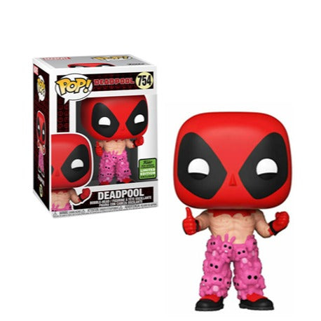 Funko Pop! Marvel: 2021 ECCC Funko Shared Exclusive - Deadpool - Teddy Pants