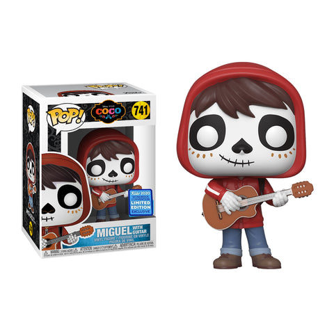 Funko Pop! Movies: Wondercon 2020 Funko Shared Exclusive: Coco – Miguel with Guitar