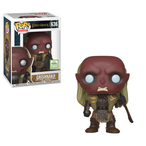 Pop Movies: 2019 ECCC - LOTR - Grishnakh
