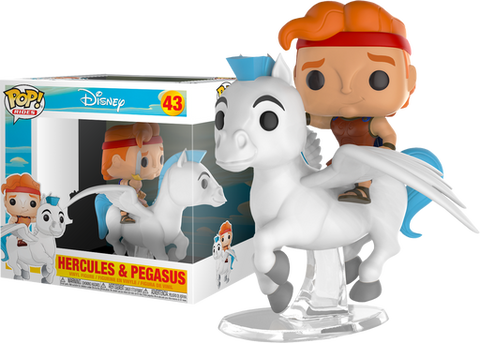 Pop! Ride Vinyl Figure: Hercules - Hercules and Pegasus