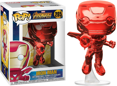 Pop Movies: Infinity War - Iron Man Flying Red Chrome
