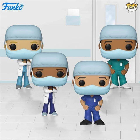 Pop! Heroes: Front Line Workers (Set of 4)