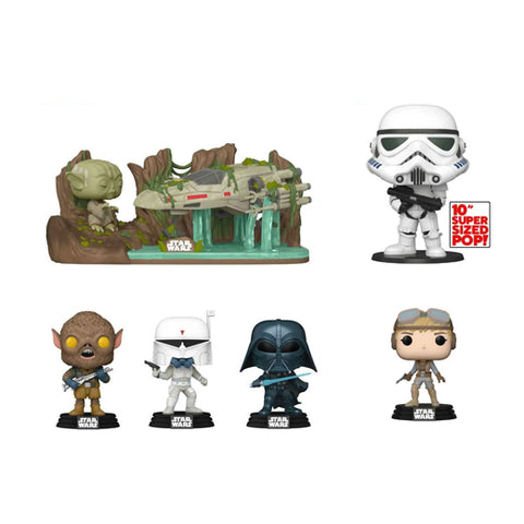 Funko Pop! Star Wars Celebration 2020 Shared Exclusive Set of 6