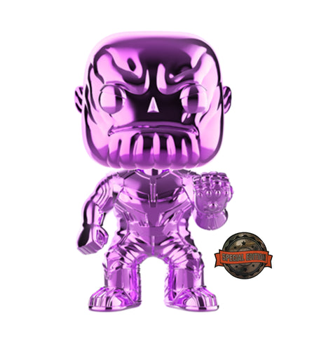 POP Marvel: Infinity War - Thanos (PU)(CH)