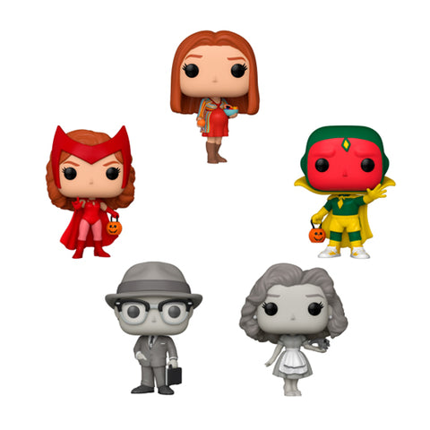 Funko Pop! Marvel: WandaVision Set of 5