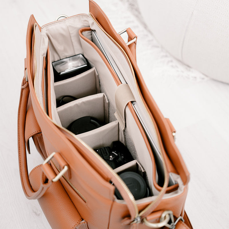 Inside Camera Bag suitable as Laptop or Diaper Bag