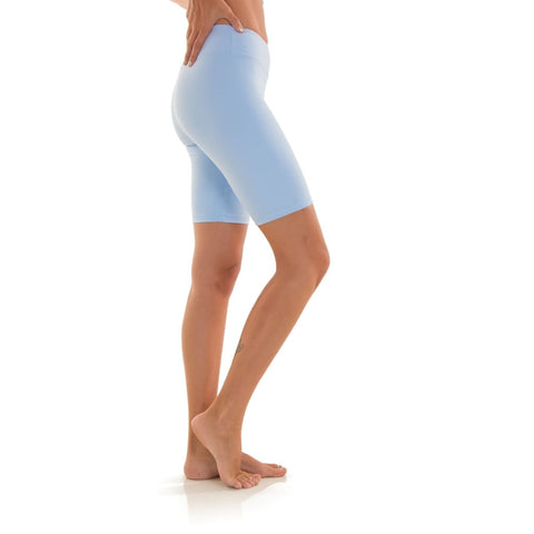 Biker Eco Shorts Light Blue - Shorts