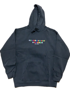 Southampton Subway Series Hoodie - Washed Black