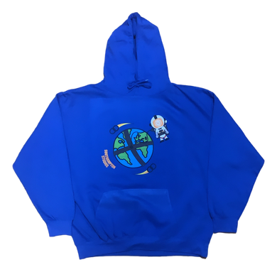 Ball Attachment Hoodie - Royal Blue