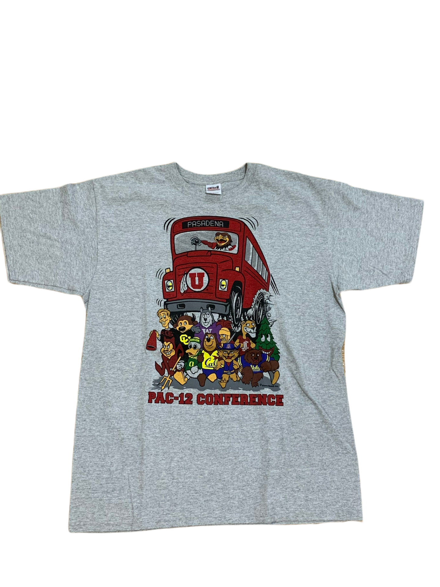 Vintage Pac-12 Conference Bus Tee