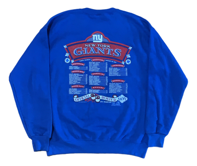 Vintage New York Giants Crewneck (2000)