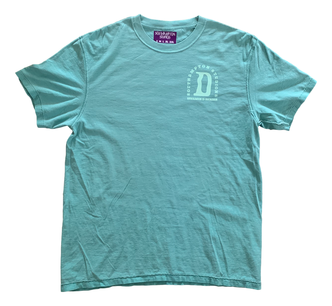 Vitamin D Tee - Jade Green