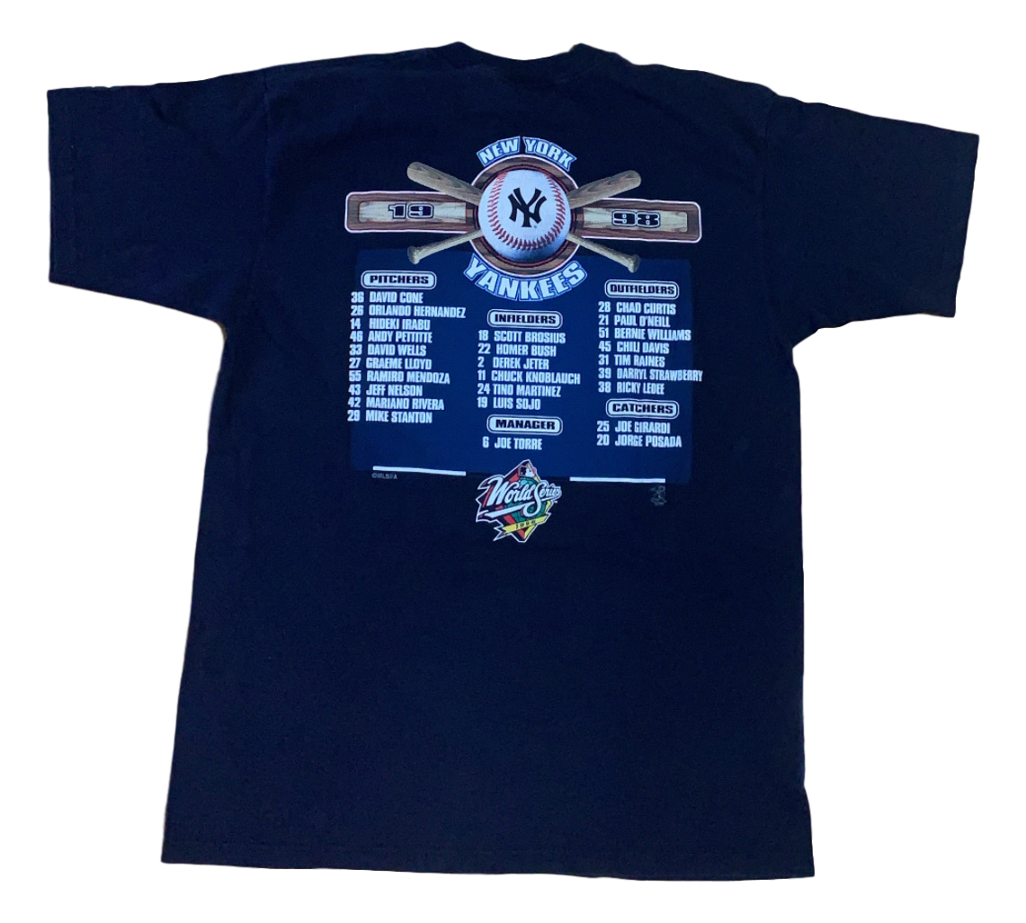 Vintage New York Yankees World Series Tee (1998)