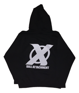Ball Attachment Hoodie - Black