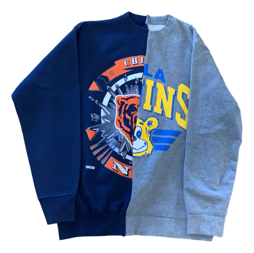 Bears Split Crewneck (UCLA X CHICAGO)