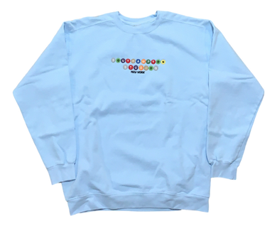 Southampton Subway Series Crewneck - Light Blue