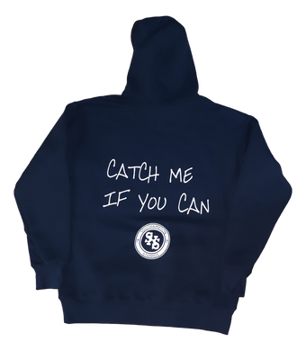 Catch Me If You Can Hoodie - Black