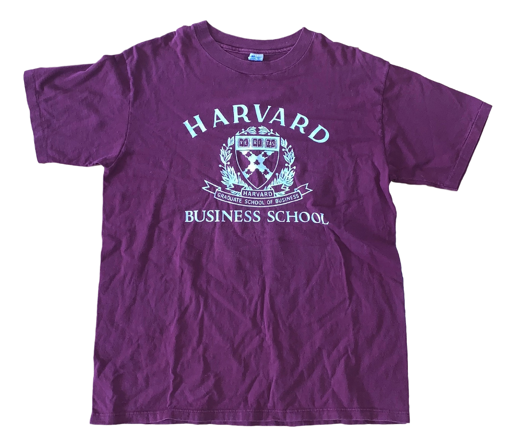 Vintage Harvard Business School Tee