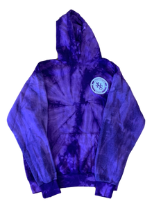 Rated S Tie-Dye Hoodie (Purple)