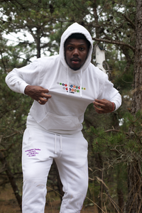 Southampton Subway Series Hoodie - Pure White